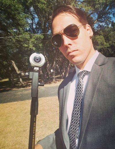 Nathan Goodfellow Professional with 360 Camera