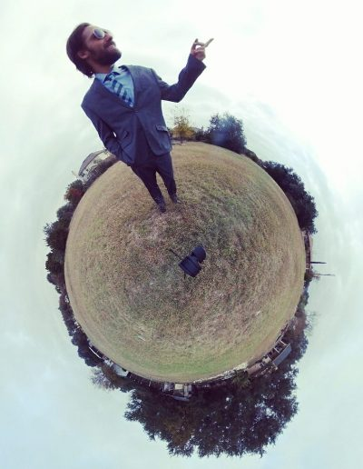 Handsome Nathan Goodfellow on a Tiny World