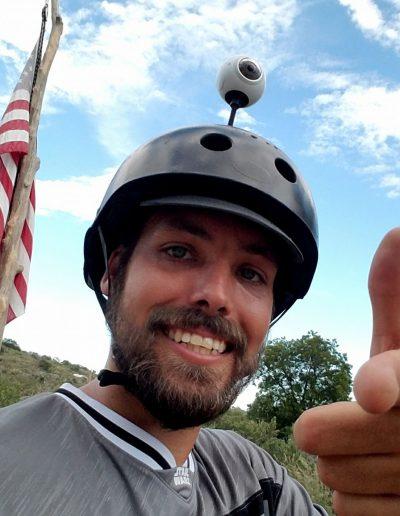 Nathan Goodfellow 360 Helmet Man