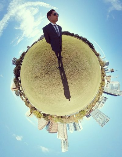 Nathan Goodfellow on a 360 Tiny World