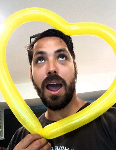Nathan Goodfellow Balloon Artist and Twister